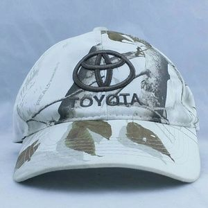 Toyota Snow Camo Hat Realtree Winter